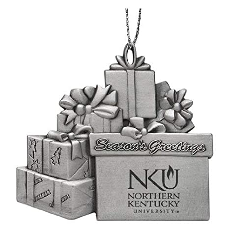 Fan Apparel & Souvenirs University of Kentucky Wildcats  Pewter Christmas Ornament Multiple Styles