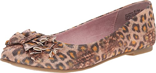 CL By Chinese Laundry Women's Go Ahead Ballet Flat, Orange/Brown , 9 M US