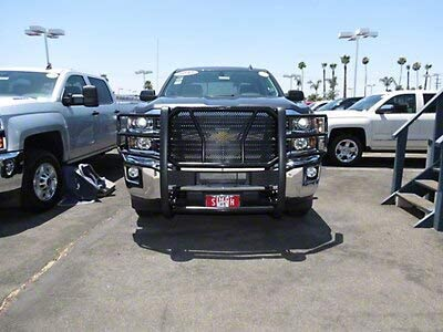 Stainless Steel for Silverado 2500//3500 2011-2014 Barricade Grille Guard
