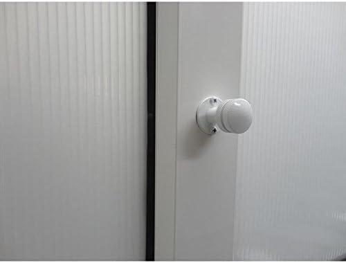 Pasador seguro corredera/persiana Blanco 2UDS: Amazon.es: Bricolaje y herramientas