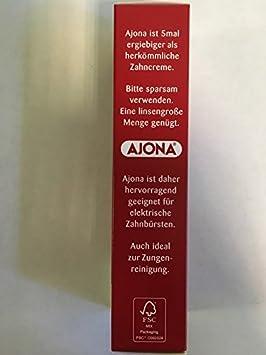 Ajona Stomaticum Pasta de dientes 6 x 25ml: Amazon.es: Salud y cuidado personal
