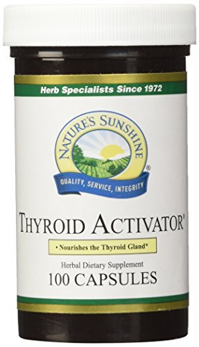 Cheap NATURE'S SUNSHINE Thyroid Activator Capsules, 100 Count