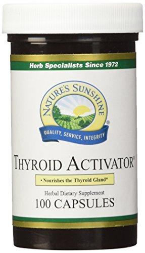 NATURES SUNSHINE Thyroid Activator Capsules product image