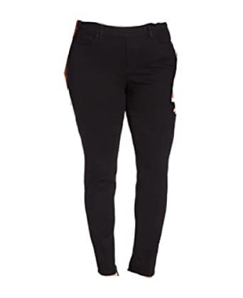 Charter Club Plus Size Pull-On Skinny Jeans, Saturated Black Wash ...