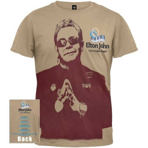 Old Glory mit Elton John Cooper-Tour 2010 T-Shirt Ray