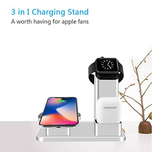 10W-Fast-iPhone-Wireless-Charger-Stand-Apple-Watch-Charging-Dock-AirPods-Charge-Station-3-in-1-Aluminum-Compatible-Apple-Watch-Series-321-AirPods-iPhone-X88-Plus-Galaxy-S9S9-Plus-Silver-10W
