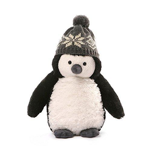 10 Inch Plush Snowflake - GUND Christmas Puffers Penguin Plush, 10