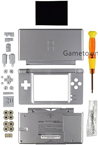 New Full Housing Case Cover Shell with Buttons Replacement Parts For Nintendo DS Lite NDSL Game (Nintendo Ds Replacement Parts)