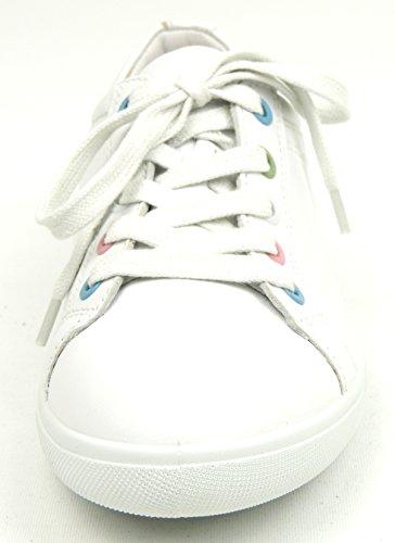 ara - Zapatos de cordones de Piel para mujer Blanco blanco Blanco - weiss multi