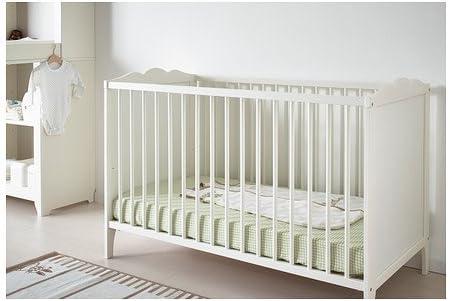 Ikea HENSVIK - Cuna, Blanco - 60x120 cm