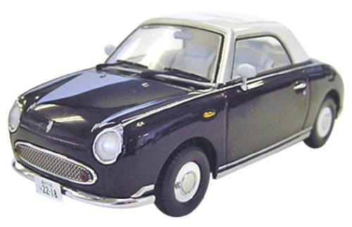1/43 日産 フィガロ 右京ミニカー (ブラック×ホワイト) 「相棒」 K03392BK