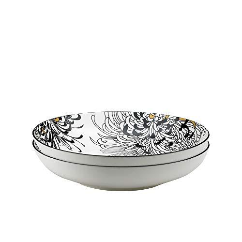 Denby 175048844 Pasta Bowl, Porcelain, Cream ()