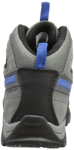 Hi Tec Nepal WP JR - Zapatos de senderismo niño Grau (Charcoal/Black/Blue 051)