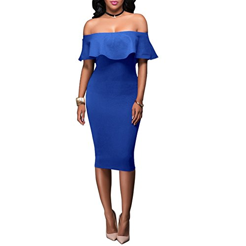 Buy below the knee length bandage dress - 4