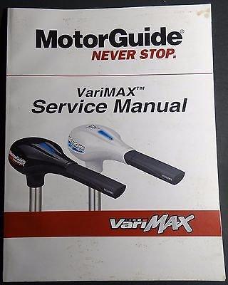 MERCURY MOTOR GUIDE VARIMAX TROLLING MOTOR SERVICE MANUAL 90-8M4002211 (809) (Mercury Trolling Motor compare prices)