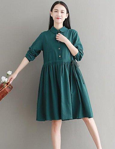 edcb25b52a43 Amazon.com   GAOLIM Women Going Out Simple Loose Midi Dress