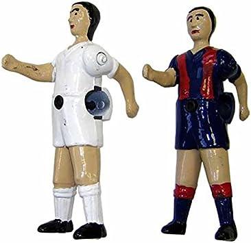Jugador futbolin Catalan Cordoba articulado Barra 14mm Color ...