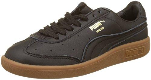 Gold Erwachsene Black Puma Schwarz Team Unisex Madrid Puma Premium Sneaker puma pq5wOOv