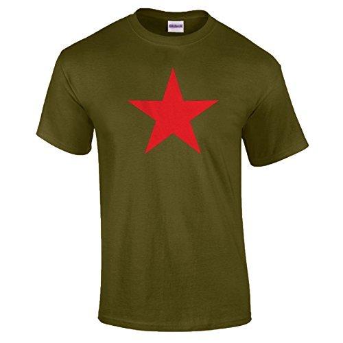 S Clothing Soviétique Afterlight Homme Star shirt T 2xl Rouge n0fwqBdwYg
