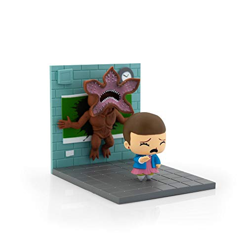Loot Crate Stranger Things Eleven Vs Demogorgon Exclusive Diorama | SuperEmoFriends Design