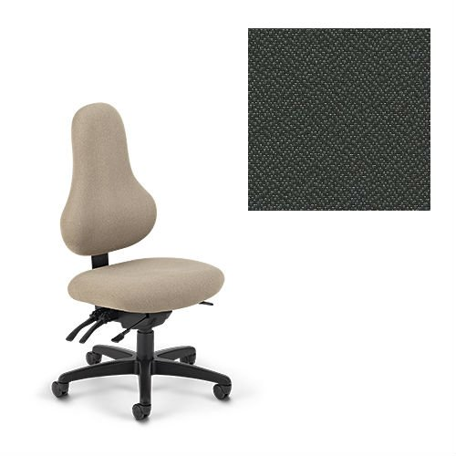 Office Master Discovery Collection DB57 Ergonomic Pear-Shaped backrest Chair – No Armrests – Grade 1 Fabric – Spice Pepper Grey 1161 PLUS Free Ergonomics eBook Review