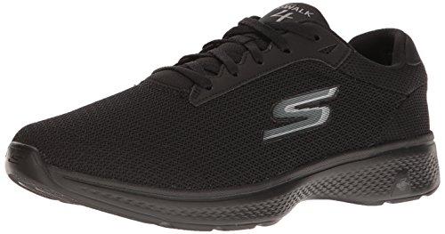 Skechers Performance Men's Go 4-54156eww Walking Shoe,Black Mesh,11.5 4E US by Skechers