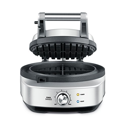Breville BWM520XL Round Waffle Waffle Maker, Brushed Stainless Steel