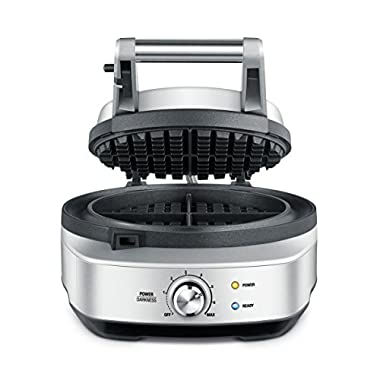 Breville BWM520XL The No Mess Waffle Maker, Silver