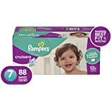 Diapers Size 7, 88 Count - Pampers Cruisers Disposable Baby Diapers, ONE MONTH SUPPLY