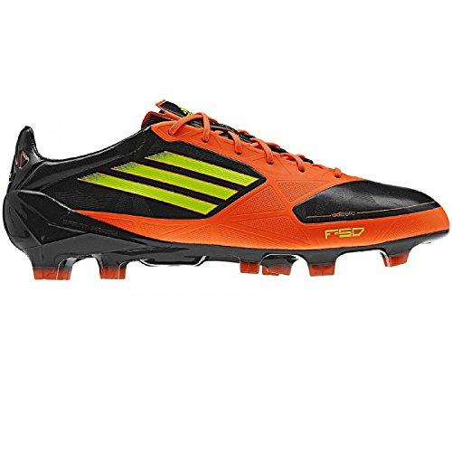 Adidas F50 Adizero TRX FG Synthetik Fußballschuhe Schwarz Orange Gelb  V23955, Adidas Schuhe Herren  ca1fdf6508