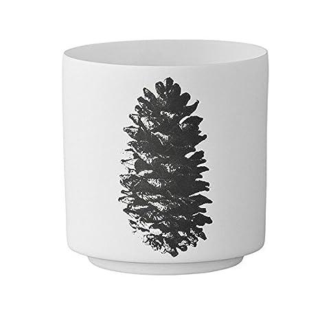 Tannenzapfen Teelichthalter 2er Set Bloomingville