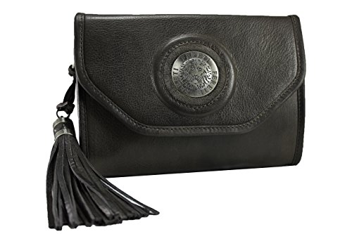 clutch 3D Bag and lion purse Dark FERETI Brown Shoulder handbag YwatFq