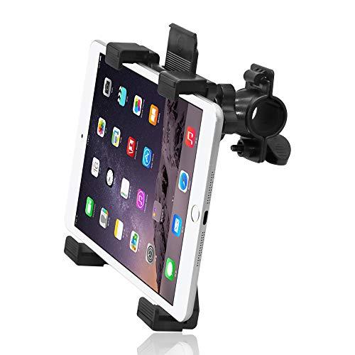 (Tablet Holder for Spinning Bike,Universal iPad Mount for Indoor Gym Equipment Treadmill Exercise Bike,Adjustable 360° Swivel Bracket Stand for 7-12