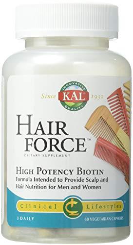 - Kal Hair Force Capsules, 60 Count