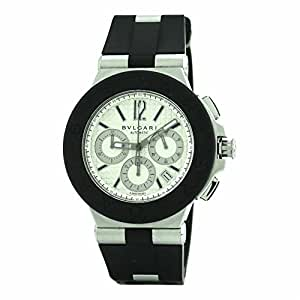 Bvlgari Diagono Chrono swiss-automatic mens Watch DG 42 SV CH (Certified Pre-owned)