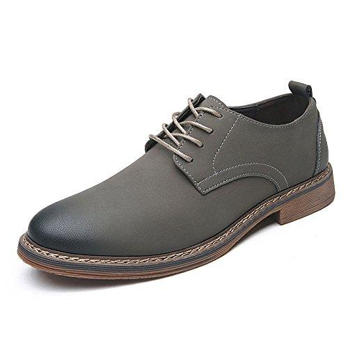 LEDLFIE Chaussures en Cuir pour Hommes Chaussures Confortables pour Hommes Chaussures en Cuir D