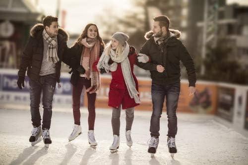 "HUDORA ""Laura Ice Skates Set, Size 8, 5, White"