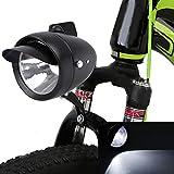 Alomejor LED Super Light Bicycle Retro Front