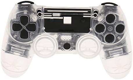PS4対応 シェルケース サムスティック L1 R1 L2 R2ボタン ドライバー付き