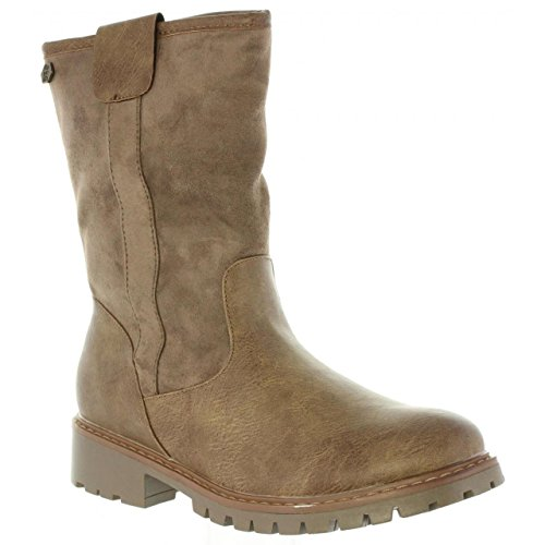 Bottes Refresh Taupe 63851 Femme Pour C 1dxdqfg
