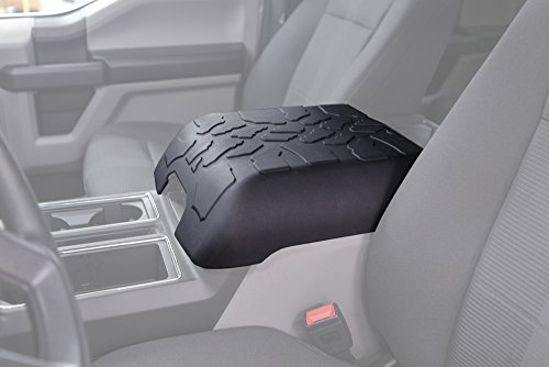 Boomerang Tire Tread Armpad for 2015-2019 Ford F150 - Center Console Armrest Cover