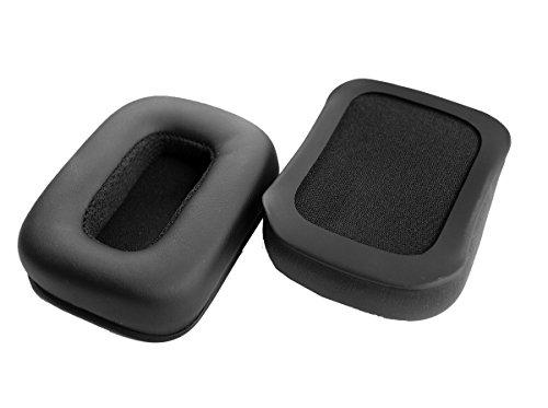 Oído reemplazo Pad almohadillas cojín de piel Reparación Piezas para Mad Catz Tritton Kunai auriculares inalámbricos auriculares estéreo para juegos PS4 ...