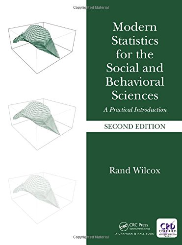Modern Statistics for the Social and Behavioral Sciences: A Practical Introduction, Second Edition -  Wilcox, 2nd Edition, Hardcover