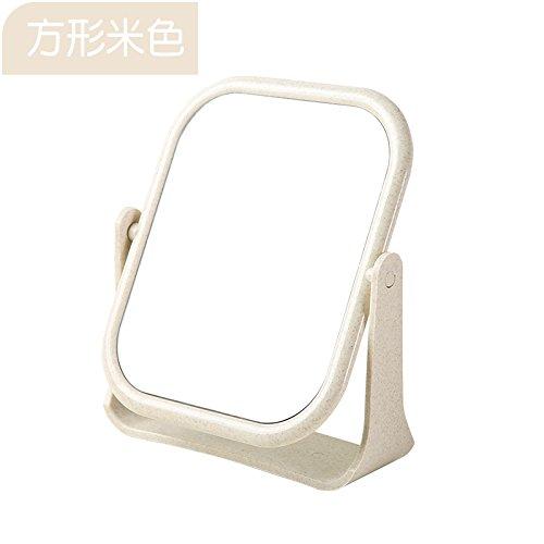 XXAICW HD simple maquillaje mesa escritorio doble cara maquillaje ...