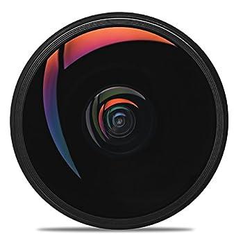 Opteka 6.5mm F3.5 Hd Aspherical Fisheye Lens & Removable Hood For Canon Eos 80d, 77d, 70d, 60d, 60da, 50d, 7d, T7i, T7s, T7, T6s, T6i, T6, T5i, T5, Sl2 & Sl1 Digital Slr Cameras 5