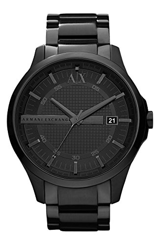 Armani Exchange Men's AX2104 Stainless Steel Black Watch, Man, Gentleman, Model:AX2104, Whristwatch, Wrist Watch