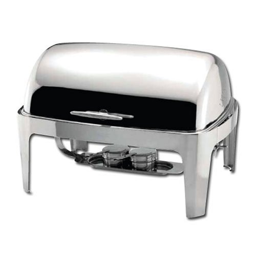 Extra Heavyweight Deep Dish - Winware  Madison 8qt Full-size Chafer, Roll-top, S/S, Heavyweight