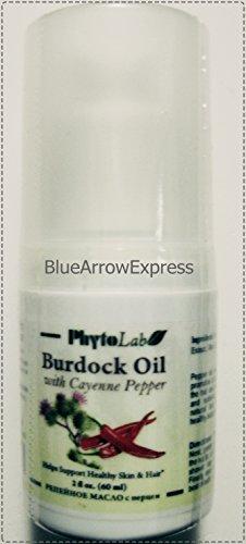 BlueArrowExpress™ Burdock Oil with Cayenne Pepper for Hea...