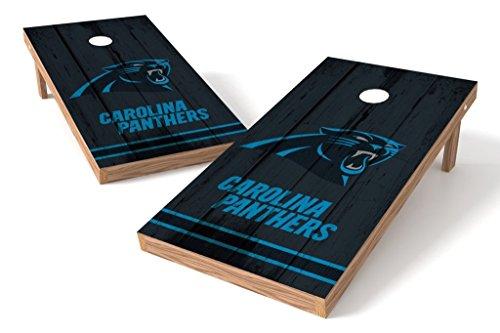 (PROLINE NFL Carolina Panthers 2'x4' Cornhole Board Set - Vintage Design)
