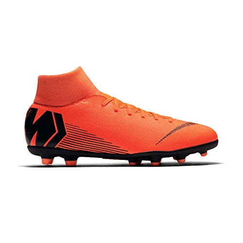 Nike MG Superfly VI Football Mercurial Orange Men Black Boots Academy s qqOwZrB